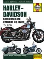 Reparaturanleitung Harley-Davidson Shovelhead and Evolution Big Twins (70 - 99) (VERSANDKOSTENFREI)