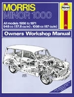 Reparaturanleitung Morris Minor 1000 (56 - 71) up to K (VERSANDKOSTENFREI)