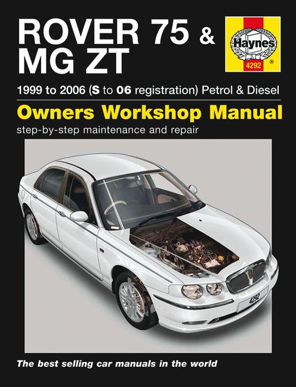 Reparaturanleitung Handbuch Rover 75 & MG ZT