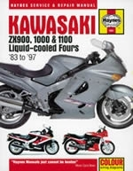 Reparaturanleitung Kawasaki ZX900, 1000 and 1100 Liquid-cooled Fours (83 - 97)  (VERSANDKOSTENFREI)