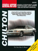 Reparaturanleitung General Motors Bonneville/Eighty Eight/LeSabre (86 - 99) (VERSANDKOSTENFREI)
