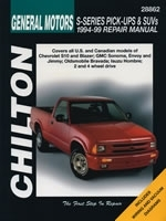 Reparaturanleitung Chevrolet S-Series Pick-Ups and SUVs (1994 - 2004) (VERSANDKOSTENFREI)
