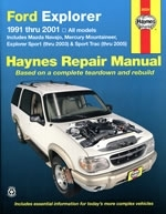 Reparaturanleitung Ford Explorer, Mazda Navajo and Mercury Mountaineer (1991 -2001) (VERSANDKOSTENFREI)