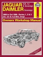 Reparaturanleitung Jaguar XJ6, XJ & Sovereign; Daimler Sovereign (68 - Oct 86) (VERSANDKOSTENFREI)