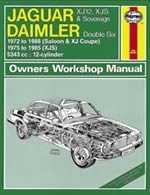 Reparaturanleitung Jaguar XJ12, XJS & Sovereign; Daimler Double Six (72 - 88) up to F (VERSANDKOSTENFREI)