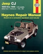 Reparaturanleitung Jeep CJ Scrambler, Renegade, Laredo and Golden Eagle (49 - 86) (VERSANDKOSTENFREI)