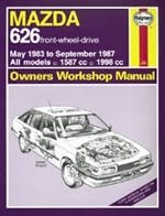 Reparaturanleitung Mazda 626 (May 83 - Sept 87) up to E (VERSANDKOSTENFREI)