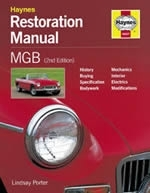 Reparaturanleitung MGB Restoration Manual (2nd Edition) (VERSANDKOSTENFREI)