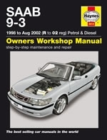 Reparaturanleitung Saab 9-3  (1998 - 2002) Manual 9.3