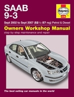 Reparaturanleitung Saab 9-3  (2002 - 2007) Manual 9.3