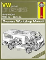 Reparaturanleitung VW LT Petrol ( Bus ) Vans & Light Trucks (76 - 87) up to E (VERSANDKOSTENFREI)