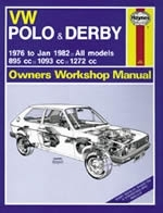 Reparaturanleitung VW Polo & Derby (76 - Jan 82) up to X (VERSANDKOSTENFREI)