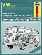 Reparaturanleitung  VW Bus / Transporter 1600 (68 - 79) up to V (VERSANDKOSTENFREI)