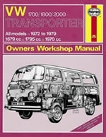 Reparaturanleitung  VW Bus / Transporter 1700, 1800 & 2000 (72 - 79) up to V  (VERSANDKOSTENFREI)