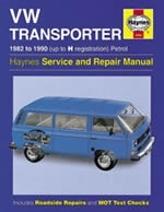 Reparaturanleitung  VW Bus / Transporter (water-cooled) Petrol (82 - 90) up to H (VERSANDKOSTENFREI)